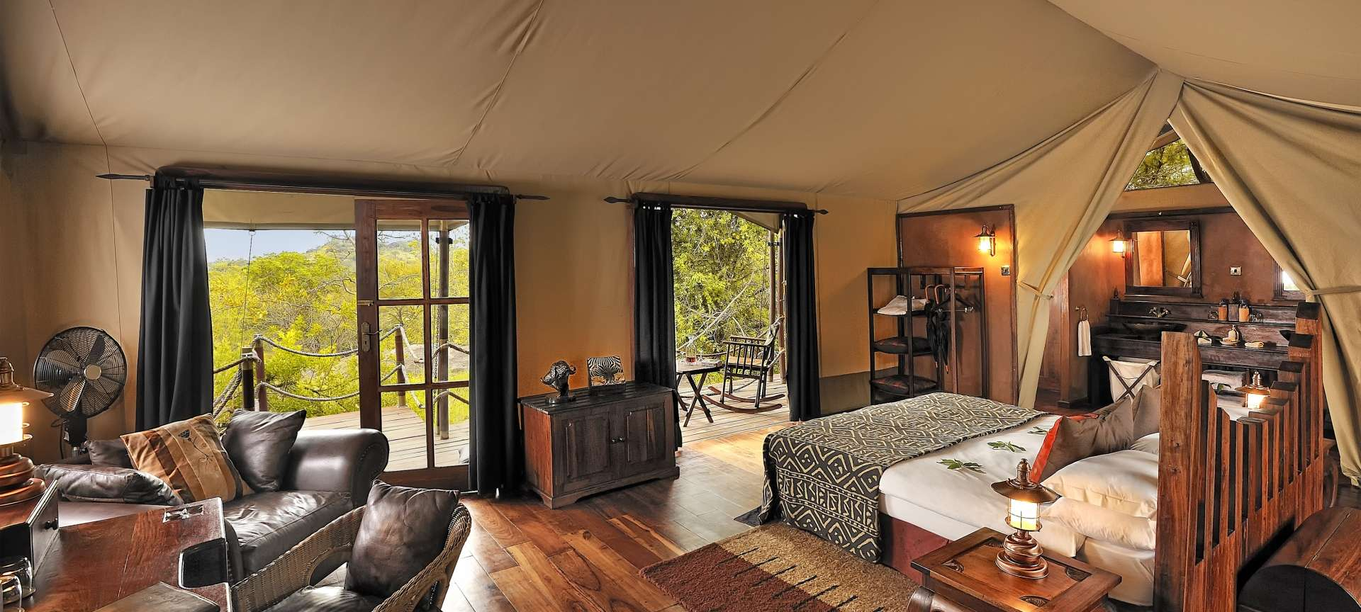 Tented Camps Accommodation
